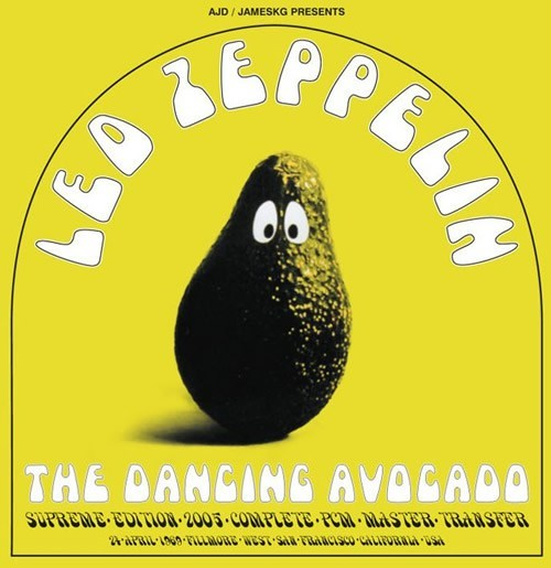 Led Zeppelin - The Dancing Avokado  //   Led Zeppelin - Plays Pure Blues