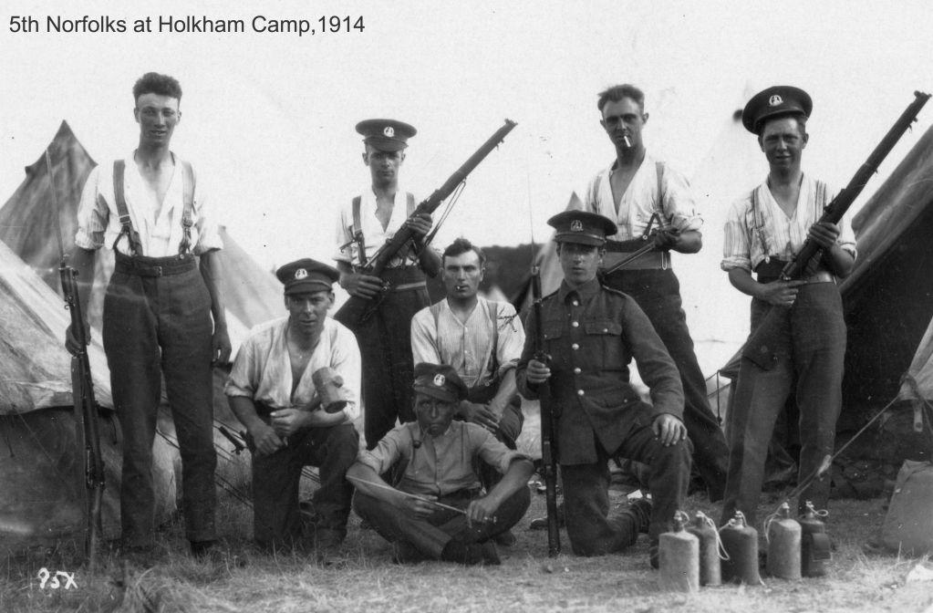 Аномалия Первой Мировой: исчезновение батальона Норфолкского полка